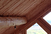 Log Home Roof Insulation